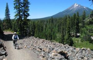 Trail between Lake of the Woods and Fish Lake